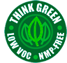 Think Green, Low VOC & NMP FREE